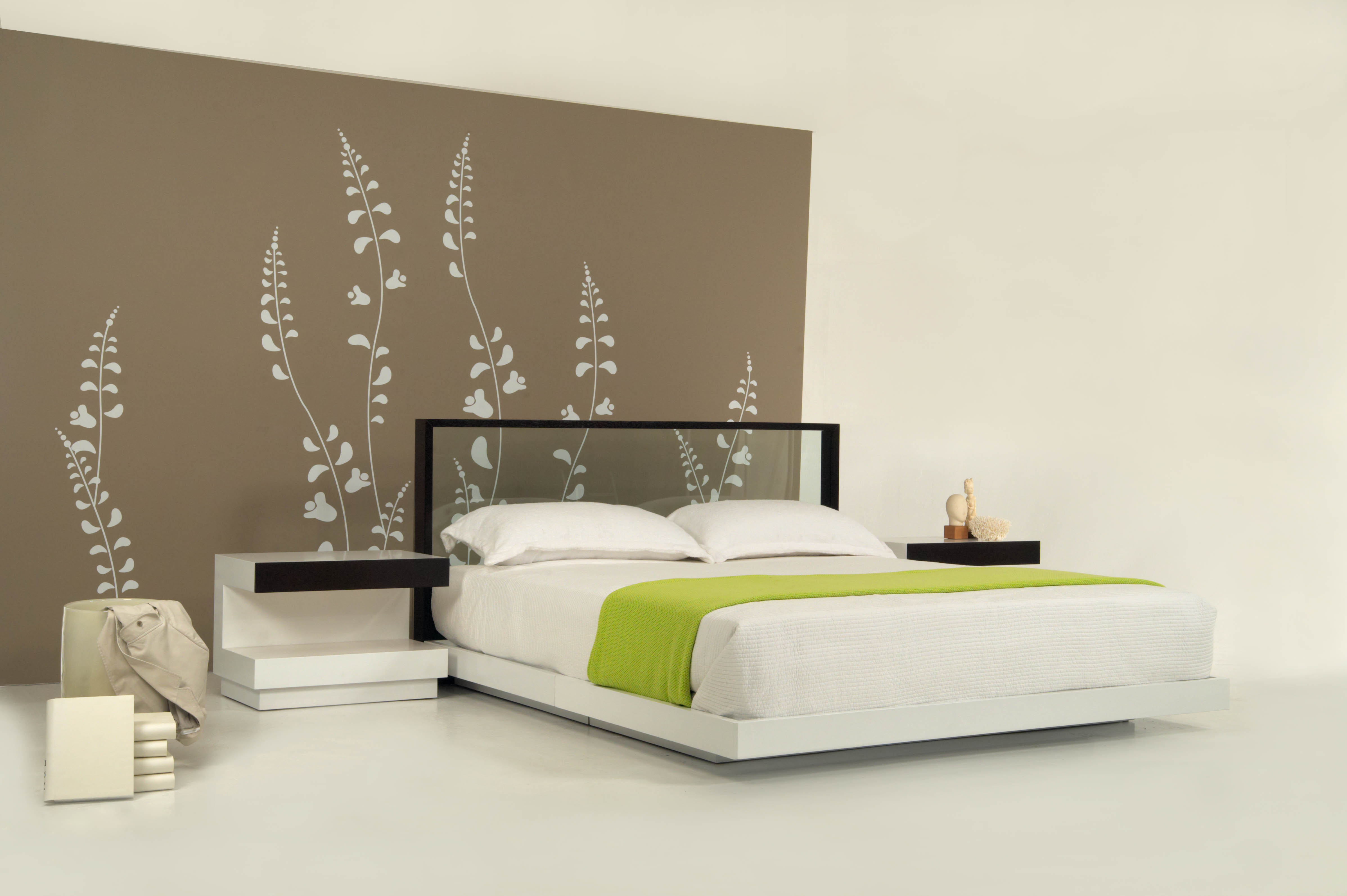 Perspective bedroom set for creative elegance ilan dei Bed headboard design